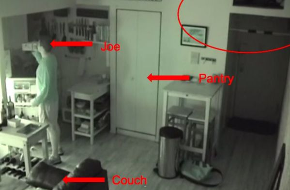 After Hearing Strange Noises At Night He Put A Hidden Camera In His Kitchen This Is What Found Scary