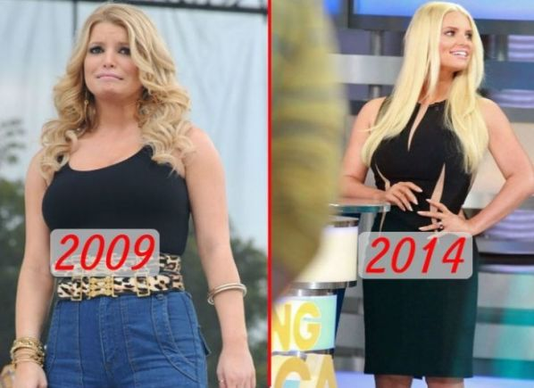 20 Shocking Celebrity Transformations - My Healthy Breeze