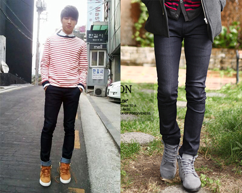 Can a guy wear skinny jeans