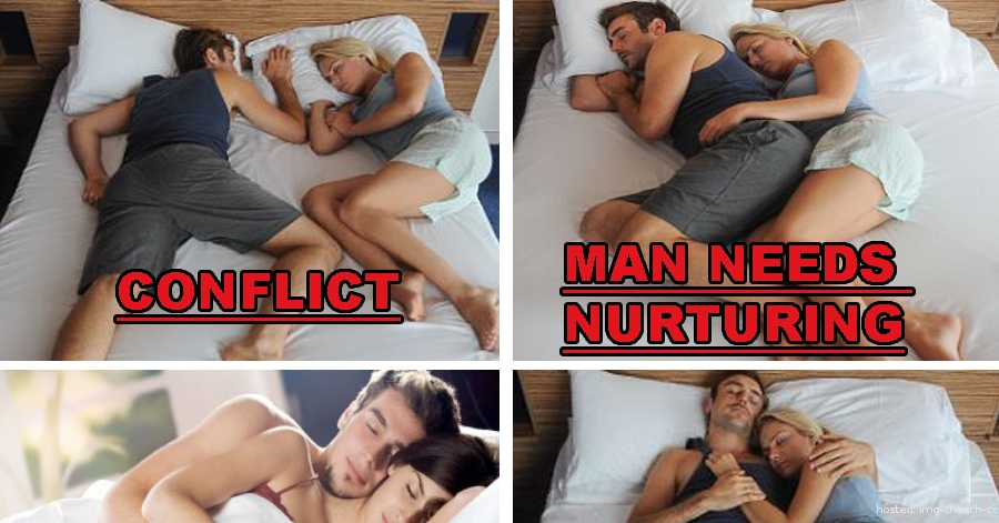 what your sleeping position says about relationship quiz