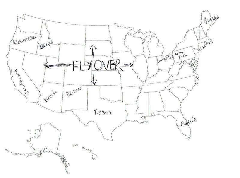 People In London Were Asked To Name US States On A Map The - Name the us states map