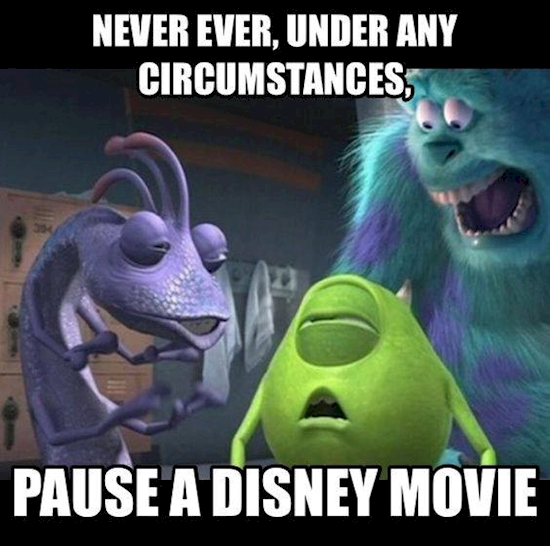 the most paused movie scenes disney movies should never be paused
