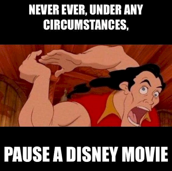 funny disney movies list don't pause disney movies