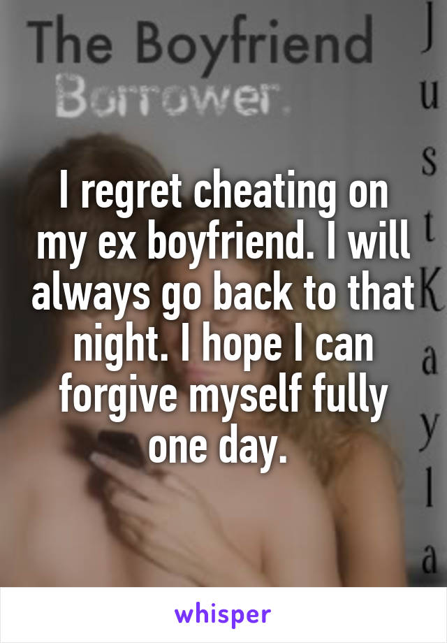 Former Cheaters Reveal Why They Changed Their Ways