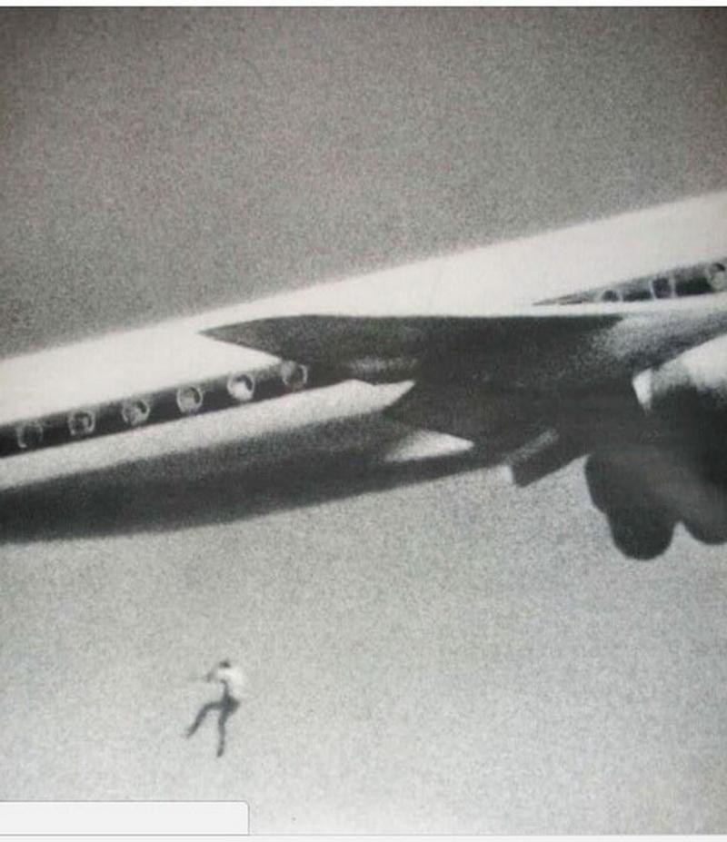 Australian boy jumps off a plane