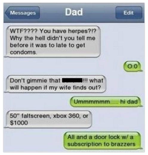 cheating texts