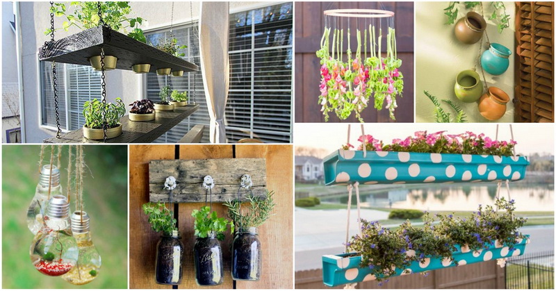 amazing hanging decorations that will make your outdoor beautiful - Garden Hanging Decorations